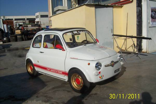 Fiat 500 Abarth restaurata